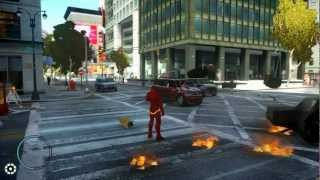 GTA IV - Iron Man - Repulsor Beam Script Test - H1Vltg3