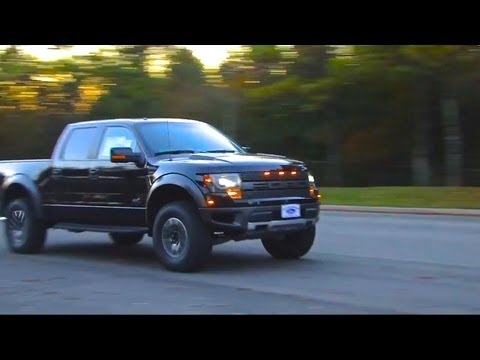 2013 Ford Raptor Supercharged by Roush Performance Exhaust video