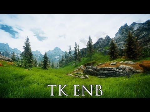 TES V - Skyrim Mods: TK ENB