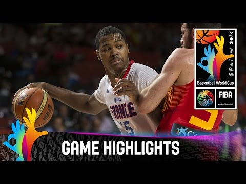 France v Spain - Game Highlights - Quarter Final - 2014 FIBA Basketball World Cup