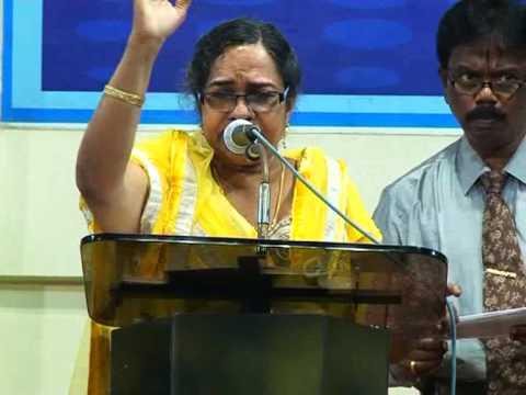 പുതുവത്സര സ്തോത്രോല്സവം-2015 Part-3 Sister Santha Sunder Singh Malayalam Christian Speech video