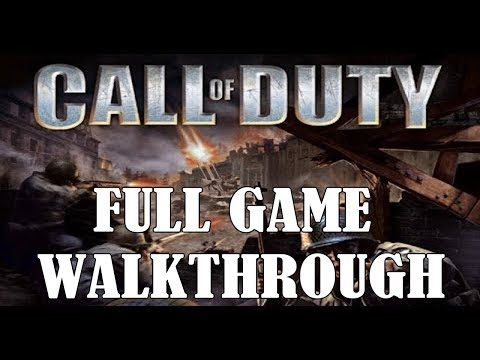 Call of Duty 1 Full Game Walkthrough (No Commentary) [PC HD]