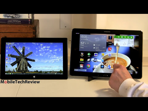Samsung Galaxy Note Pro 12.2 vs. Microsoft Surface Pro 2 Comparison Smackdown