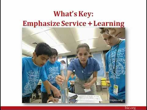 PBL and Service-Learning