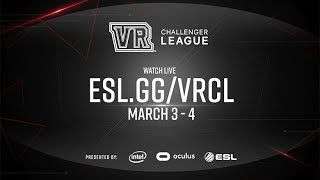 Welcome to the VR Challenger League Finals