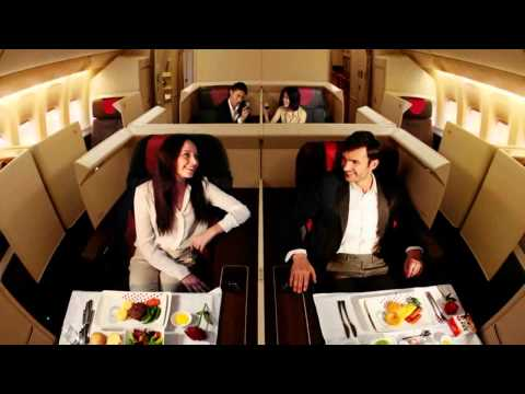 Luxurious First Class Airline Tickets for Half Price
