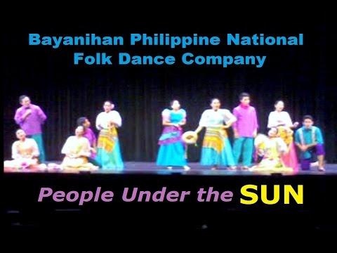 Pasinaya 2013 - Bayanihan Philippine National Folk Dance Company people Under The Sun video