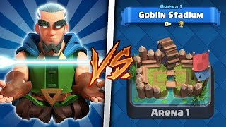 Magic Archer Trolling Arena 1 in Clash Royale | Legendary Trolling