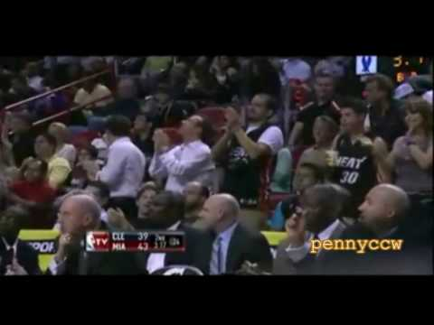 LeBron James 32pts vs Dwyane Wade 32pts 09/10 NBA
