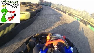 """""""BEST LAP 41.65! TEST 5 GIRI CRONOMETRATI"""" Go Kart 200cc """"Turbokart"""" Piacenza"""