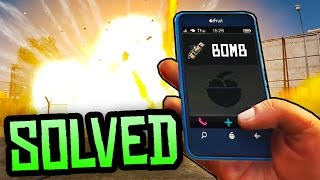 GTA 5 Easter Eggs - SECRET PHONE NUMBER BOMB SOLVED! (GTA 5 Black Cellphones Mystery Solved)