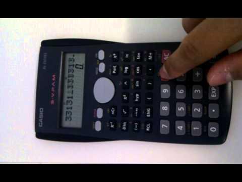 BlitzBrickHack - Calculater Casio fx-350MS