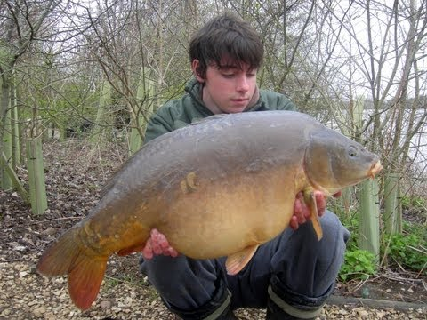 Brasenose One Carp Fishing - April 2013