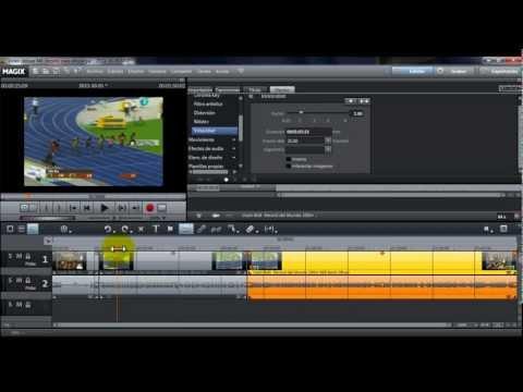 Cámara lenta y reversa con MAGIX Video Deluxe 18 (MX)