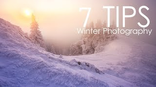 7 Winter Photography Tips and Ideas for your Landscapes