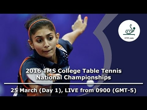 2016 TMS College Table Tennis National Championships - Day 1, Table 1