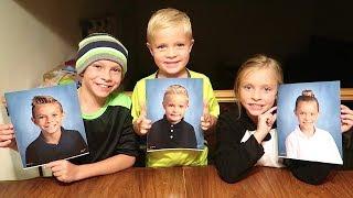 Kids School Pictures Telepathy Challenge!