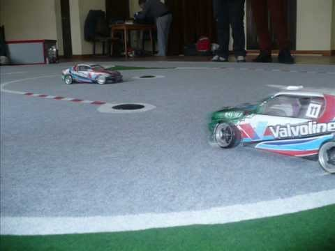 RC Drift Valvoline PUZ Drift Team - trening