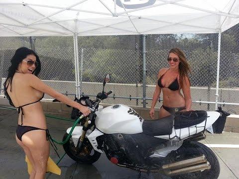 4th Annual Long Beach BMW Motorcycles Bikini Bike Wash for Pediatric Brain Tumor Foundation