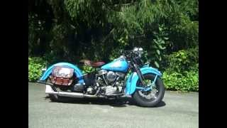 1948 Harley Panhead first start in years