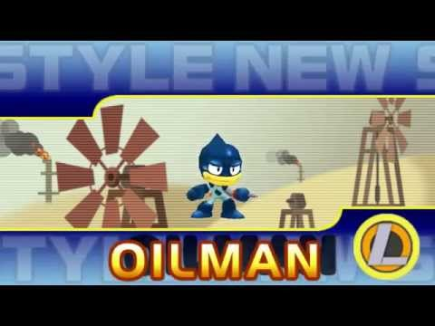 Mega Man Powered Up - Oil Man