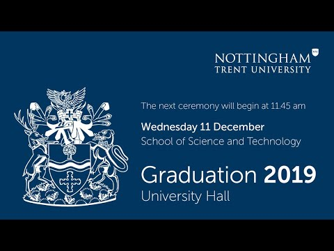 NTU Graduation Dec 2019 - Ceremony 9: Science and Technology 11.45 am