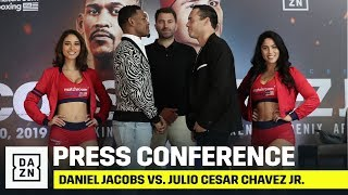 Daniel Jacobs vs. Julio Cesar Chavez Jr. Launch Press Conference