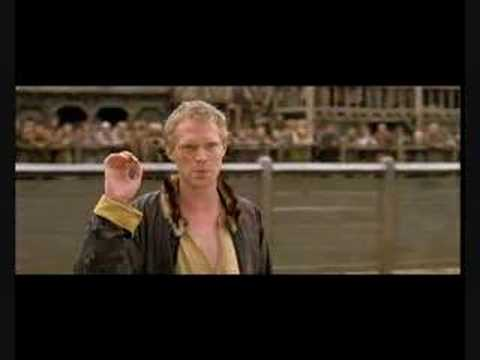 Despite A Knights Tale being completely goofy in way too many ways, Paul Bettany's character as Geoffrey Chaucer was a delight