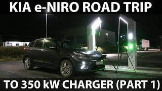Road trip to Rødekro in Kia e-Niro part 1