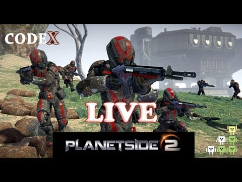 codeX - Planetside 2: MMO FPS ao Vivo