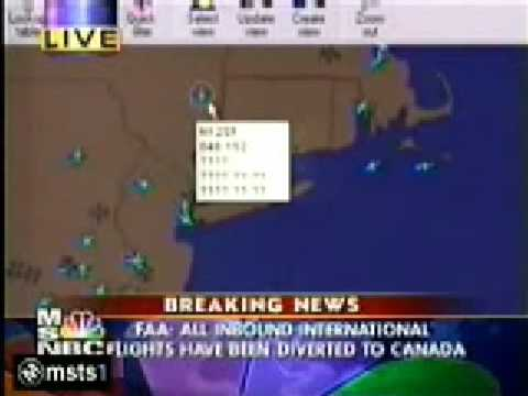 911 Aircraft(175) is still flying AFTER  it has 'crashed' into the WTC.