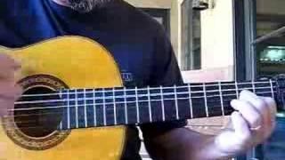 Flamenco bulerias falseta lesson