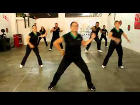 Baile Aerobico  para Principiantes: Sesión de calentamiento.