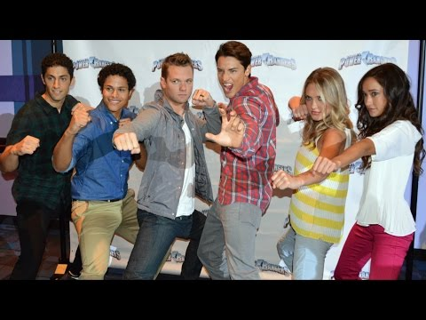 Power Rangers Super Megaforce Cast Interview at Nickelodeon Hotel - Power Rangers Weekends
