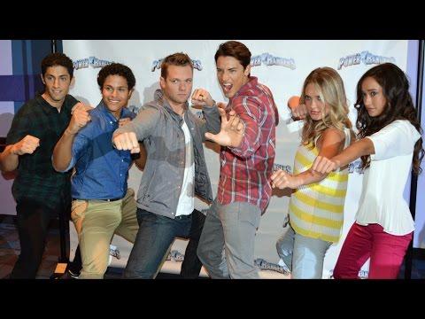 Power Rangers Super Megaforce Cast Interview at Nickelodeon Hotel - Power Rangers Weekends