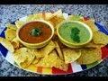 Salsa Roja y Salsa Verde para unas Flautas muy Saludables a la  Laura Muller!