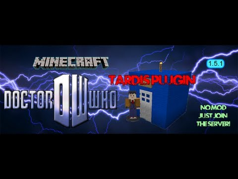 1.6.2 Minecraft TARDIS Plugin Server IP in description