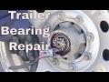 Trailer Repair--Loose Bearings
