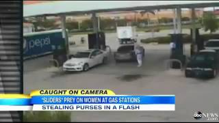 Thieves Stealing Purses From Cars in a FLASH