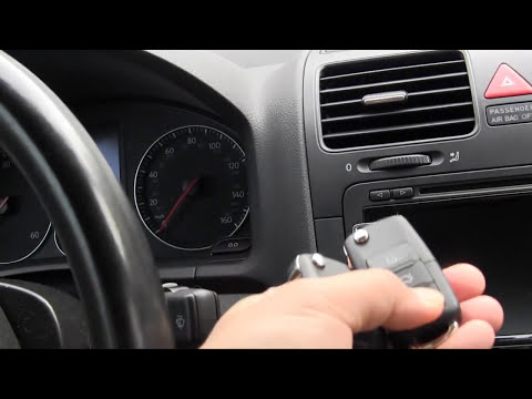 How to program mk5 VW remote key fob keyless entry using ross tech VCDS