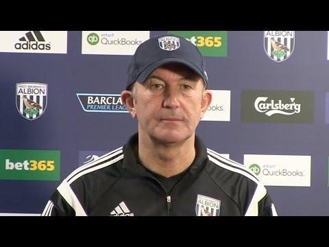 PRESS CONFERENCE   Tony Pulis previews West Bromwich Albion's Premier League fixture at Everton