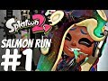 Splatoon 2 - Salmon Run Gameplay Walkthrough Part 1 - Co-op (Horde Mode) 1080P 60FPS