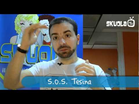 S.O.S. Tesina