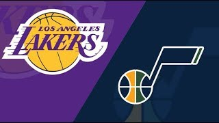 Live Lakers vs Jazz w/ Ahouse Reacts! Who will win this game?