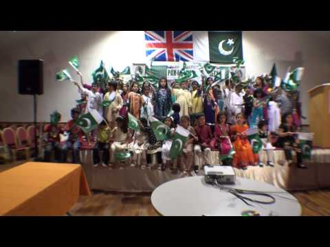 Cultural Evening 8 Sep 2012-Children Naghma- Jeevay Pakistan