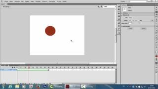 Flash CS6- Shape tween