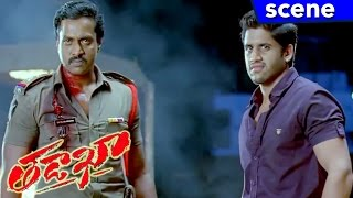 Naga Chaitanya and Sunil Attacks Ashutosh Rana - Climax Scene - Tadakha Movie Scenes