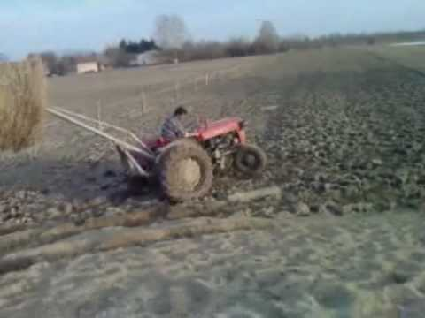 tractor wheeling, stunt, first real tractor wheeling