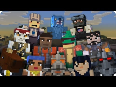 MineCraft Xbox360 - Skin Pack 6 Review