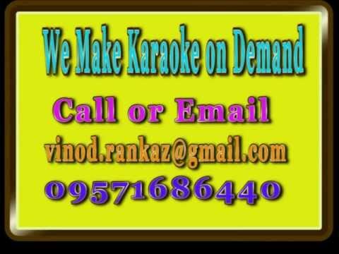 Aye Chand Teri Chandni ki kasam - Karaoke - Tera Jadoo chal...